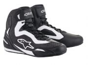 Alpinestars Faster3 Rideknit Shoes Black/White
